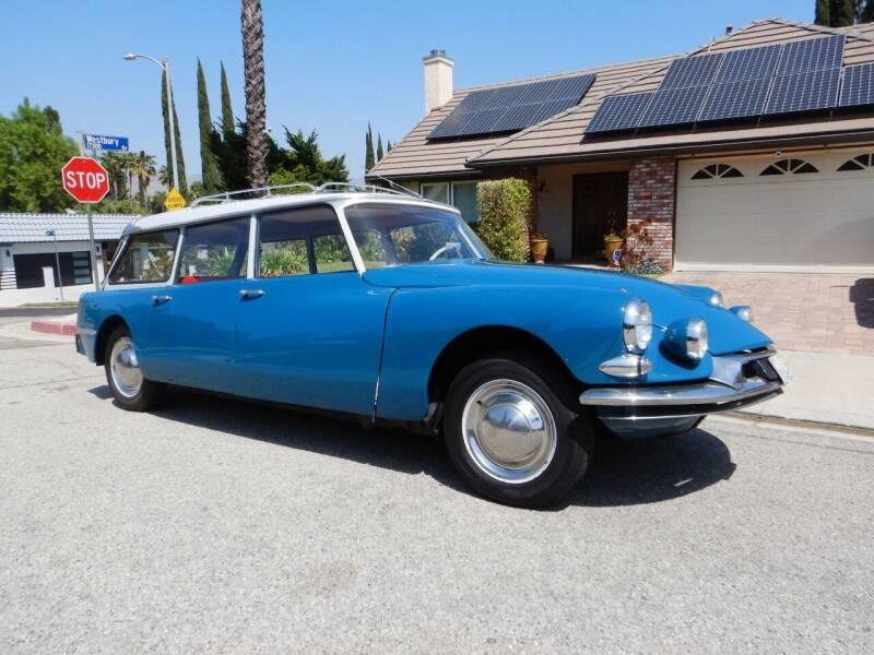 1962 Citroen Break Wagon for sale at California Cadillac & Collectibles in Los Angeles CA