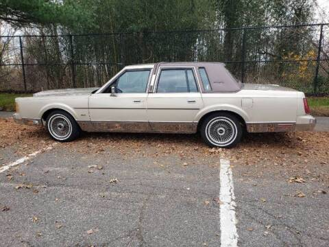 1989 Lincoln Town Car for sale at Classic Car Deals in Cadillac MI