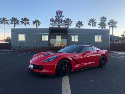 2014 Chevrolet Corvette for sale at Barrett Auto Gallery in San Juan TX