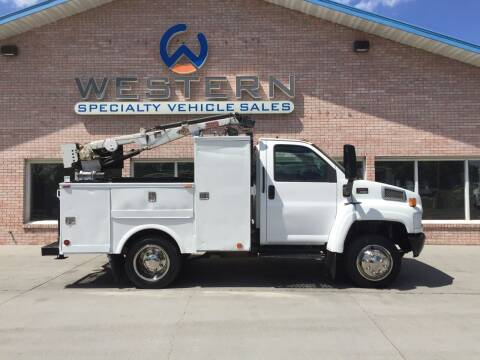 2003 GMC C4500 Mechanics Truck for sale at Western Specialty Vehicle Sales in Braidwood IL