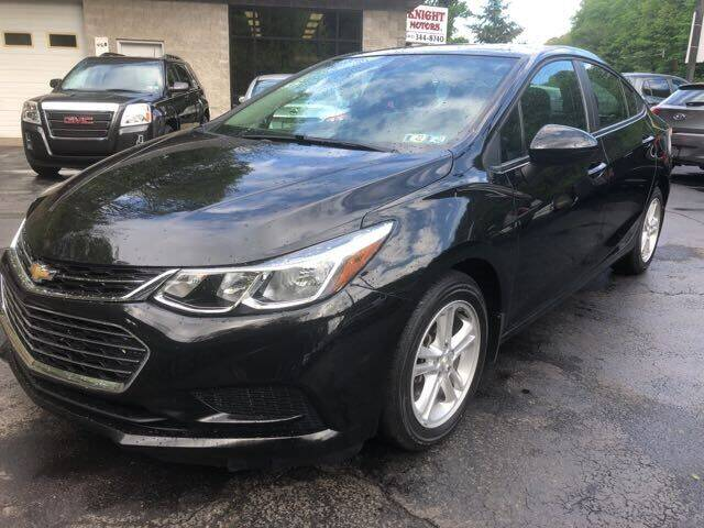 2018 Chevrolet Cruze for sale in Pittsburgh, PA