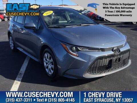 2020 Toyota Corolla for sale at East Syracuse Performance Sales & Service in Syracuse NY