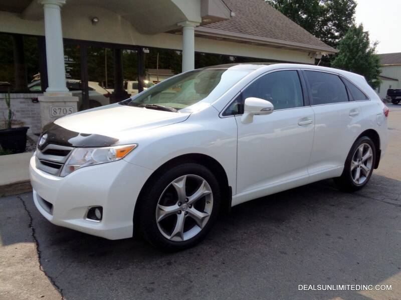 2013 Toyota Venza for sale at DEALS UNLIMITED INC in Portage MI