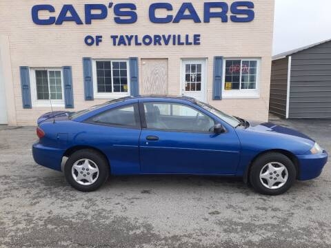 2004 Chevrolet Cavalier for sale at Caps Cars Of Taylorville in Taylorville IL