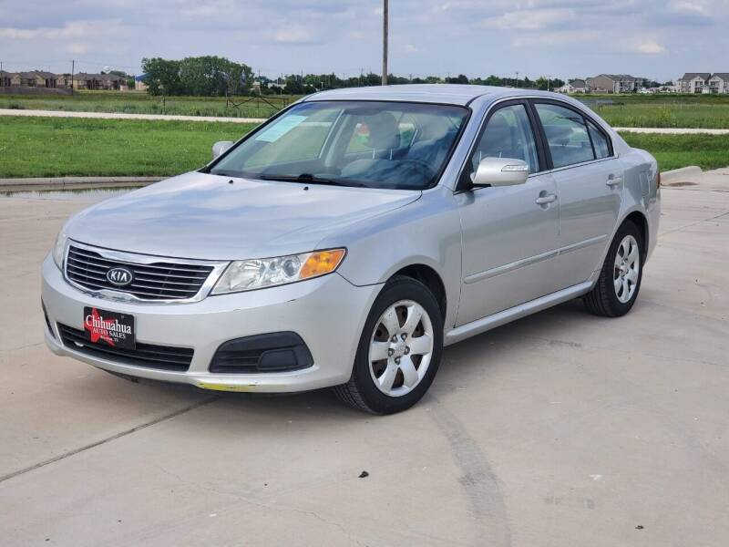 2010 Kia Optima for sale at Chihuahua Auto Sales in Perryton TX