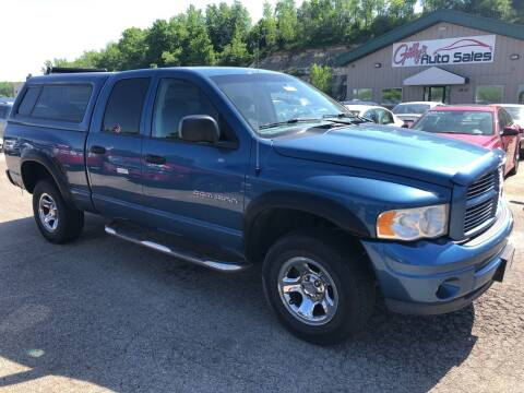 2003 Dodge Ram Pickup 1500 for sale at Gilly's Auto Sales in Rochester MN
