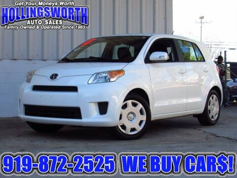 2012 Scion xD for sale at Hollingsworth Auto Sales in Raleigh NC
