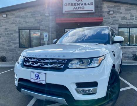 2017 Land Rover Range Rover Sport for sale at GREENVILLE AUTO & RV in Greenville WI