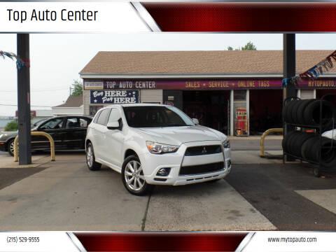 2012 Mitsubishi Outlander Sport for sale at Top Auto Center in Quakertown PA