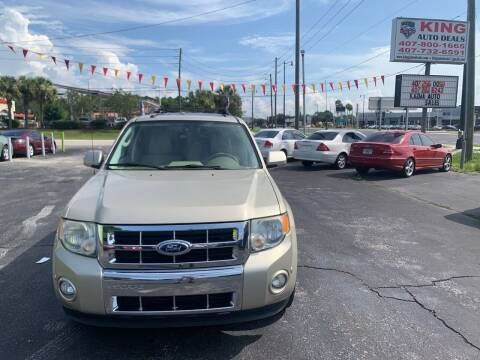 2011 Ford Escape for sale at King Auto Deals in Longwood FL