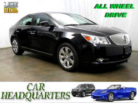 2012 Buick LaCrosse for sale at CAR  HEADQUARTERS in New Windsor NY