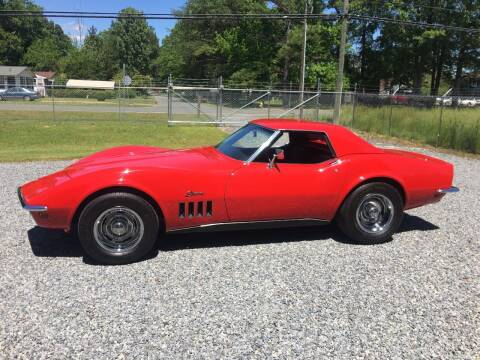1969 Chevrolet Corvette for sale at F & A Corvette in Colonial Beach VA
