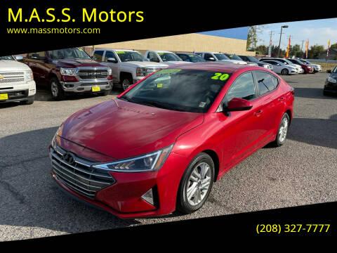 2020 Hyundai Elantra for sale at M.A.S.S. Motors - MASS MOTORS in Boise ID