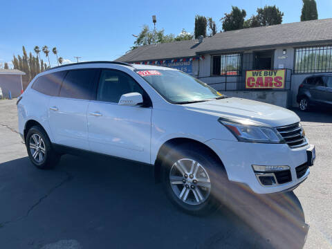 2017 Chevrolet Traverse for sale at Blue Diamond Auto Sales in Ceres CA