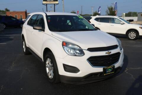 2016 Chevrolet Equinox for sale at AUTO POINT USED CARS in Rosedale MD