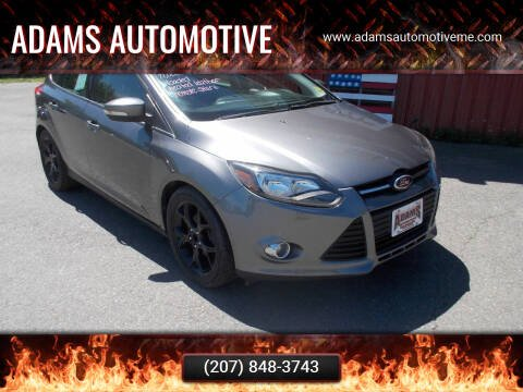 2013 Ford Focus for sale at Adams Automotive in Hermon ME
