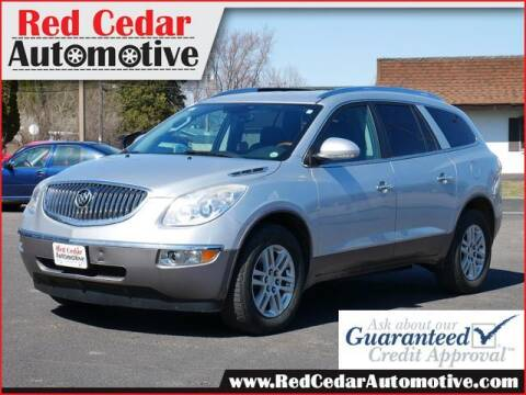 2012 Buick Enclave for sale at Red Cedar Automotive in Menomonie WI