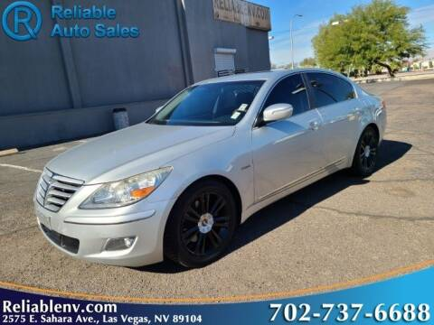 2011 Hyundai Genesis for sale at Reliable Auto Sales in Las Vegas NV