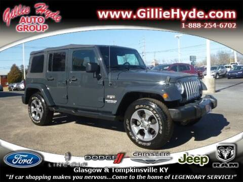 2017 Jeep Wrangler Unlimited for sale at Gillie Hyde Auto Group in Glasgow KY