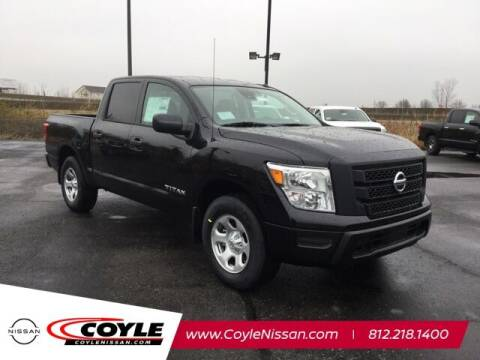 2021 Nissan Titan for sale at COYLE GM - COYLE NISSAN - Coyle Nissan in Clarksville IN