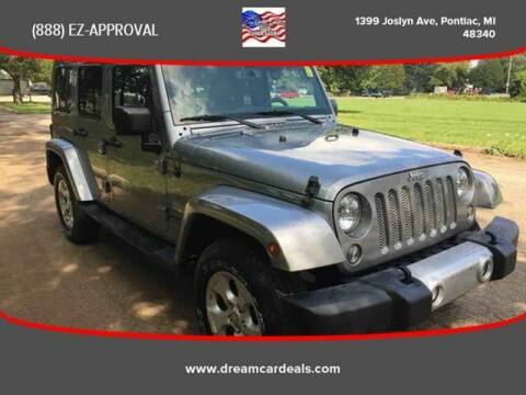 2015 Jeep Wrangler Unlimited for sale at Great Lakes Auto Superstore in Waterford Township MI