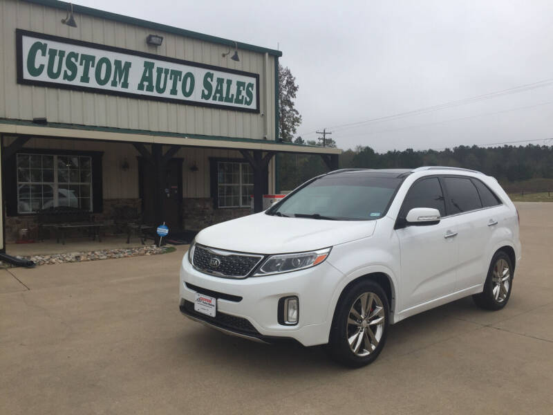 2014 Kia Sorento for sale at Custom Auto Sales - AUTOS in Longview TX