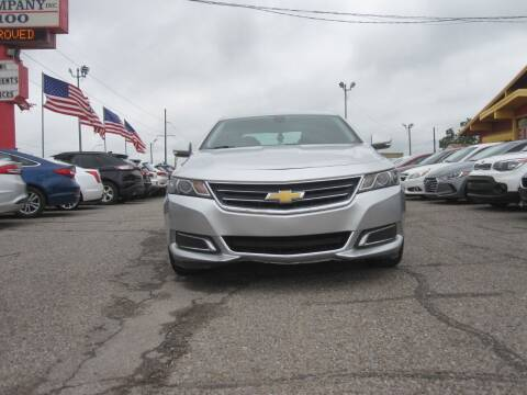 2015 Chevrolet Impala for sale at T & D Motor Company in Bethany OK