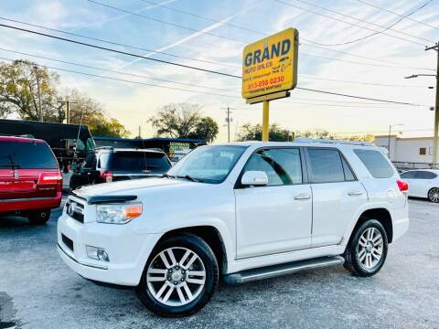 2010 Toyota 4Runner for sale at Grand Auto Sales in Tampa FL