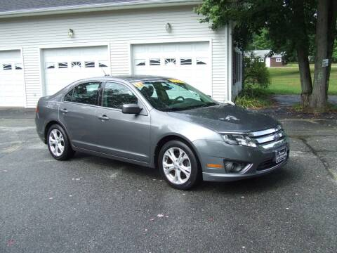 2012 Ford Fusion for sale at DUVAL AUTO SALES in Turner ME
