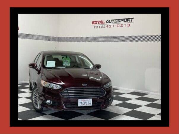 2013 Ford Fusion for sale at Royal AutoSport in Sacramento CA