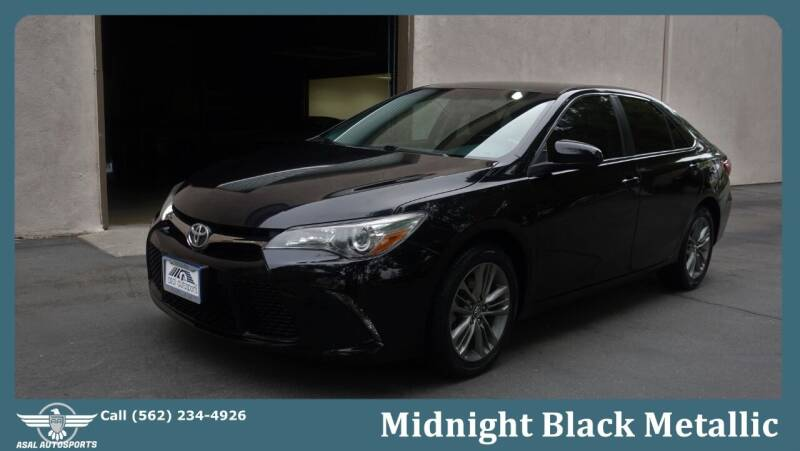 2016 Toyota Camry for sale at ASAL AUTOSPORTS in Corona CA