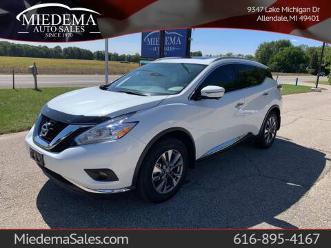 2017 Nissan Murano for sale at Miedema Auto Sales in Allendale MI
