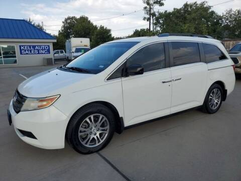 2012 Honda Odyssey for sale at Kell Auto Sales, Inc - Jacksboro Hwy in Wichita Falls TX