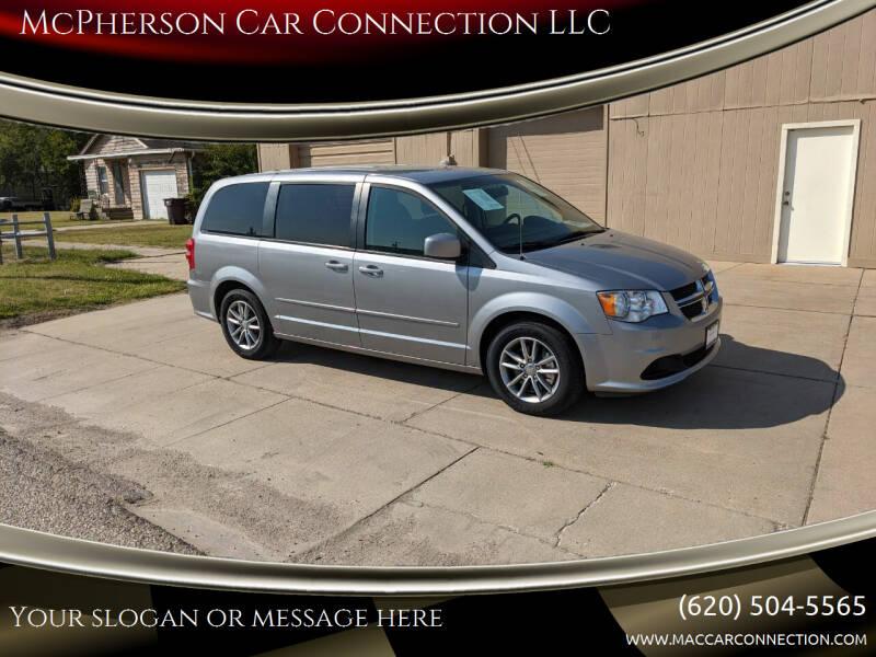 2016 Dodge Grand Caravan for sale at McPherson Car Connection LLC in Mcpherson KS