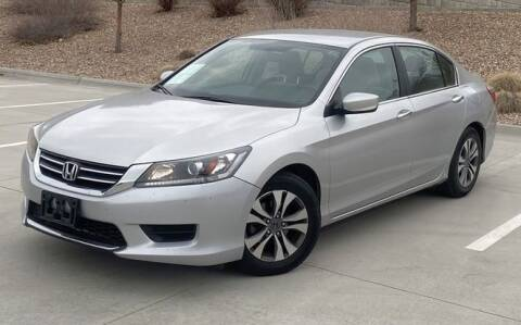2013 Honda Accord for sale at Select Auto Imports in Provo UT