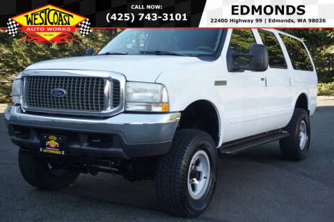 2000 Ford Excursion for sale at West Coast Auto Works in Edmonds WA