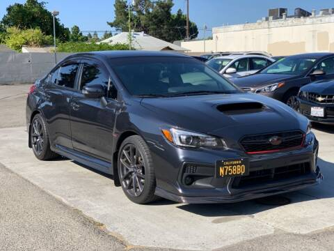 2018 Subaru WRX for sale at H & K Auto Sales & Leasing in San Jose CA