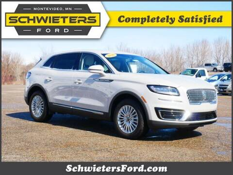 2020 Lincoln Nautilus for sale at Schwieters Ford of Montevideo in Montevideo MN