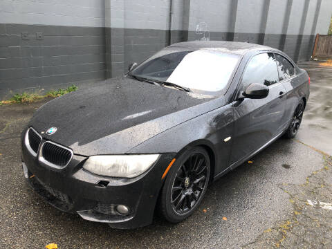 2012 BMW 3 Series for sale at APX Auto Brokers in Lynnwood WA