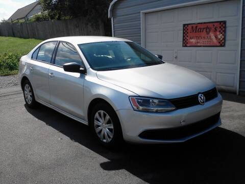 2012 Volkswagen Jetta for sale at Marty's Auto Sales in Lenoir City TN