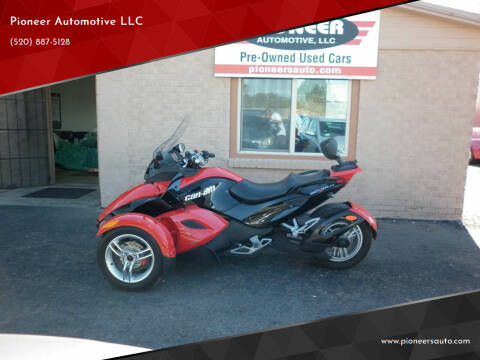 2009 Can-Am Spyder for sale at Pioneer Automotive LLC in Tucson AZ