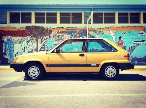 1983 Toyota Tercel for sale at Sports Plus Motor Group LLC in Sunnyvale CA