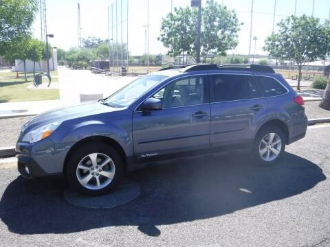 2013 Subaru Outback for sale at J & E Auto Sales in Phoenix AZ