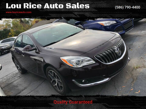 2017 Buick Regal for sale at Lou Rice Auto Sales in Clinton Township MI