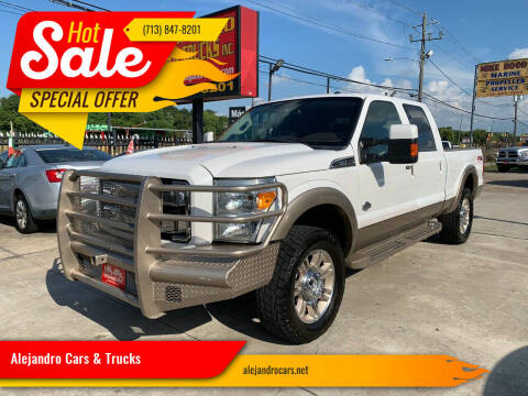 2013 Ford F-250 Super Duty for sale at Alejandro Cars & Trucks in Houston TX