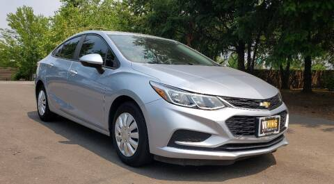 2017 Chevrolet Cruze for sale at VIking Auto Sales LLC in Salem OR