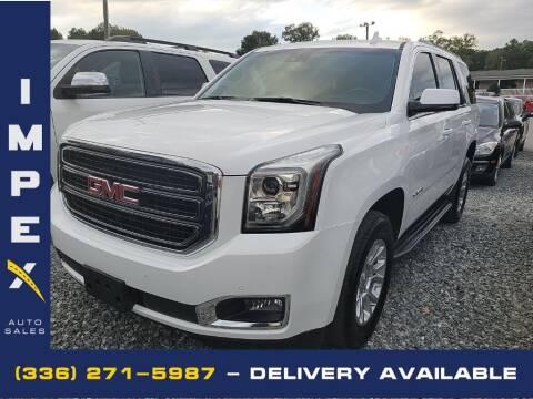 2020 GMC Yukon for sale at Impex Auto Sales in Greensboro NC