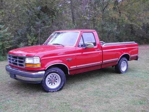 1992 Ford F-150 for sale at BARKER AUTO EXCHANGE in Spencer IN
