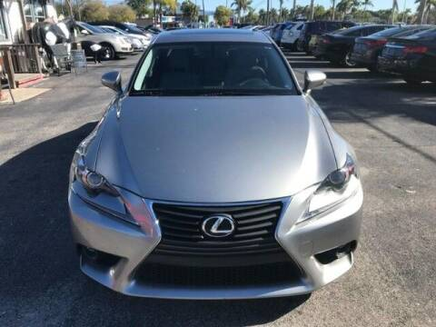 2015 Lexus IS 250 for sale at Denny's Auto Sales in Fort Myers FL