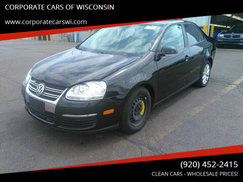 2010 Volkswagen Jetta for sale at CORPORATE CARS OF WISCONSIN - DAVES AUTO SALES OF SHEBOYGAN in Sheboygan WI